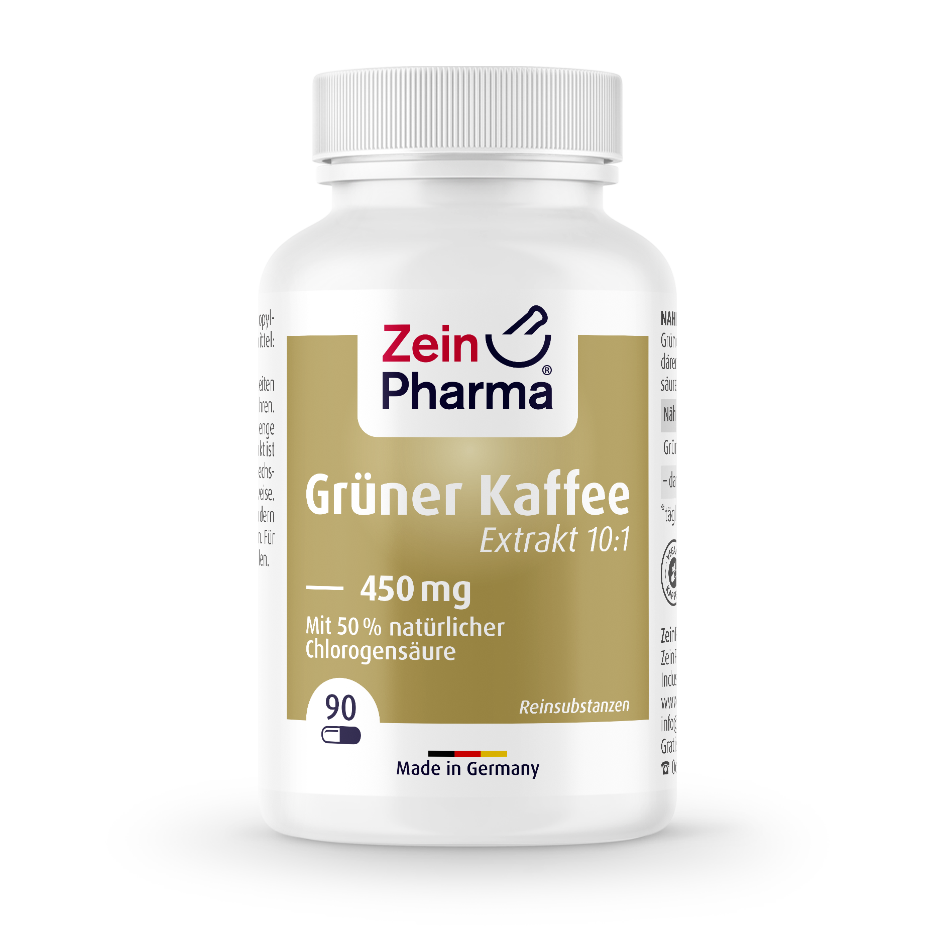 Green Coffee Extract Capsules 450 mg