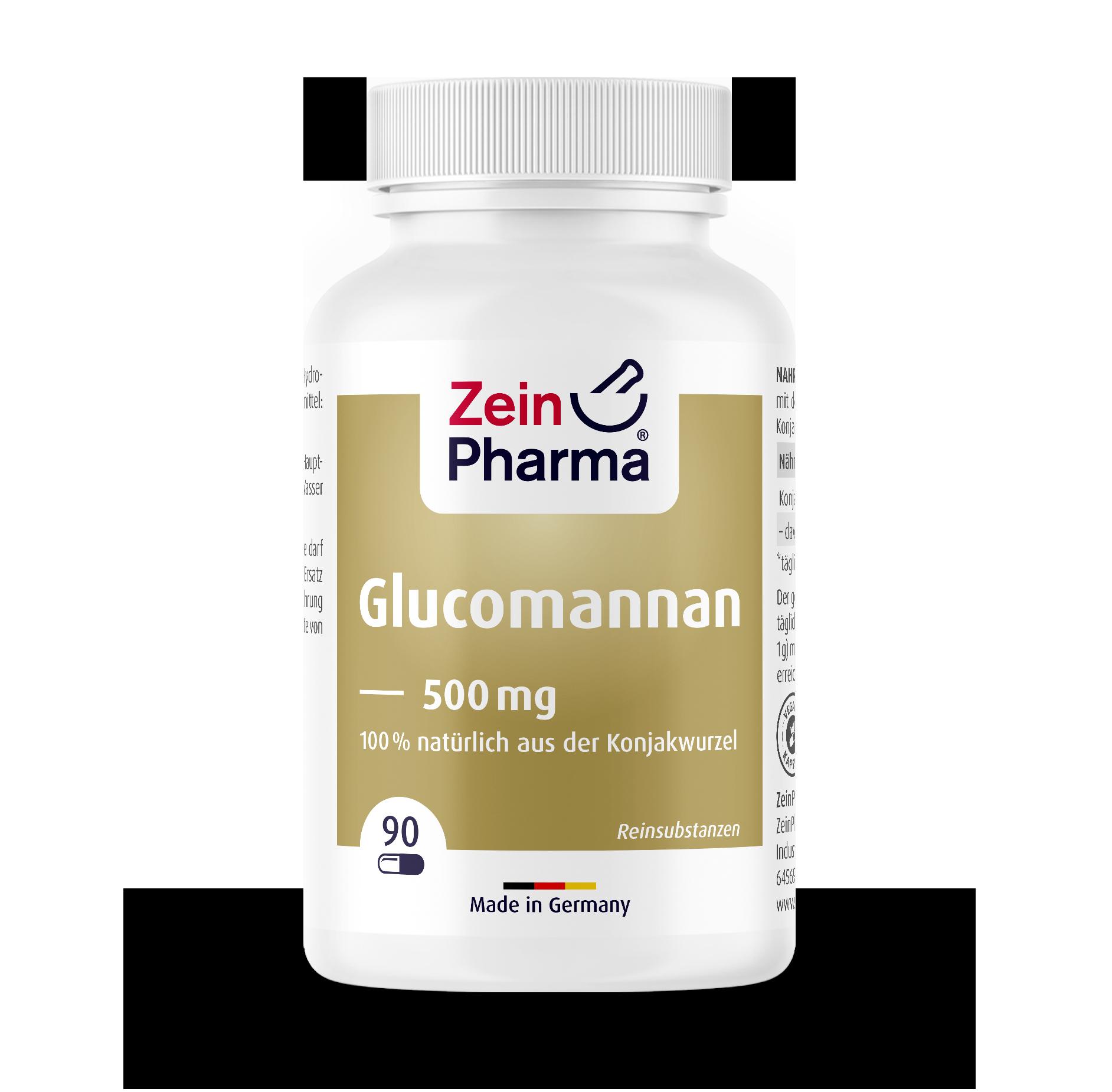 Glucomannan 500 mg Capsules