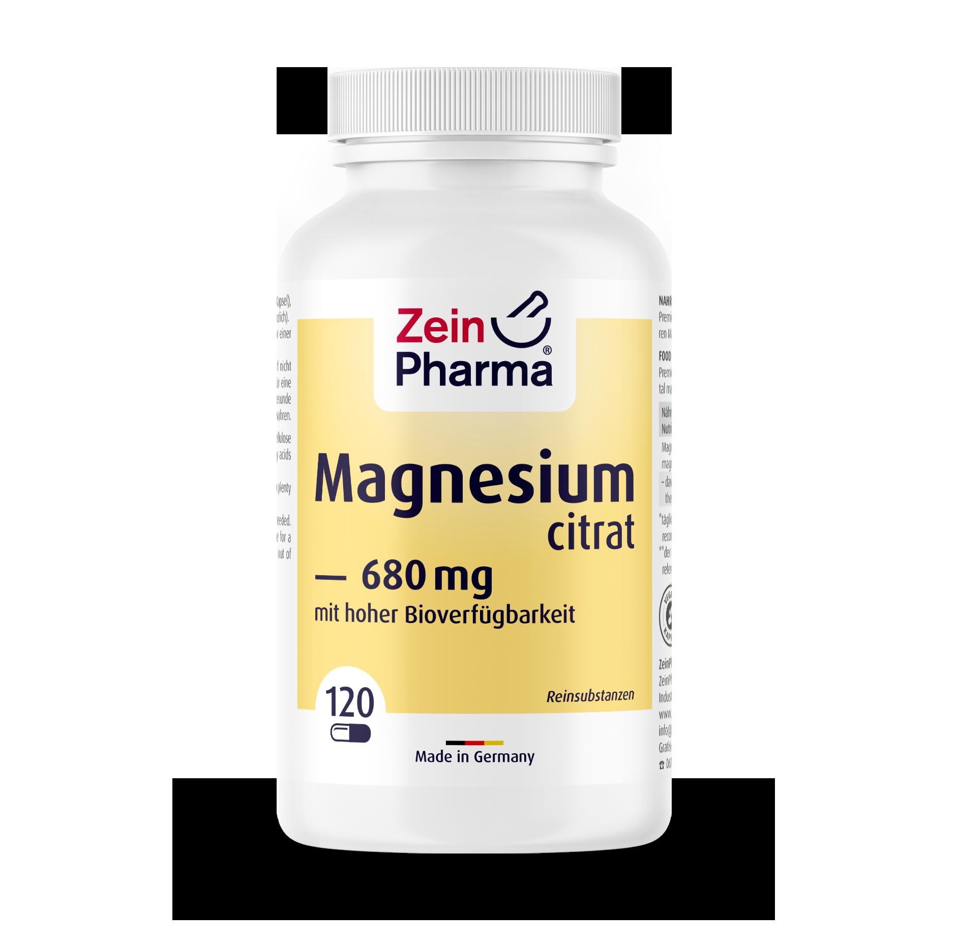 Magnesium Citrate Capsules 680 mg
