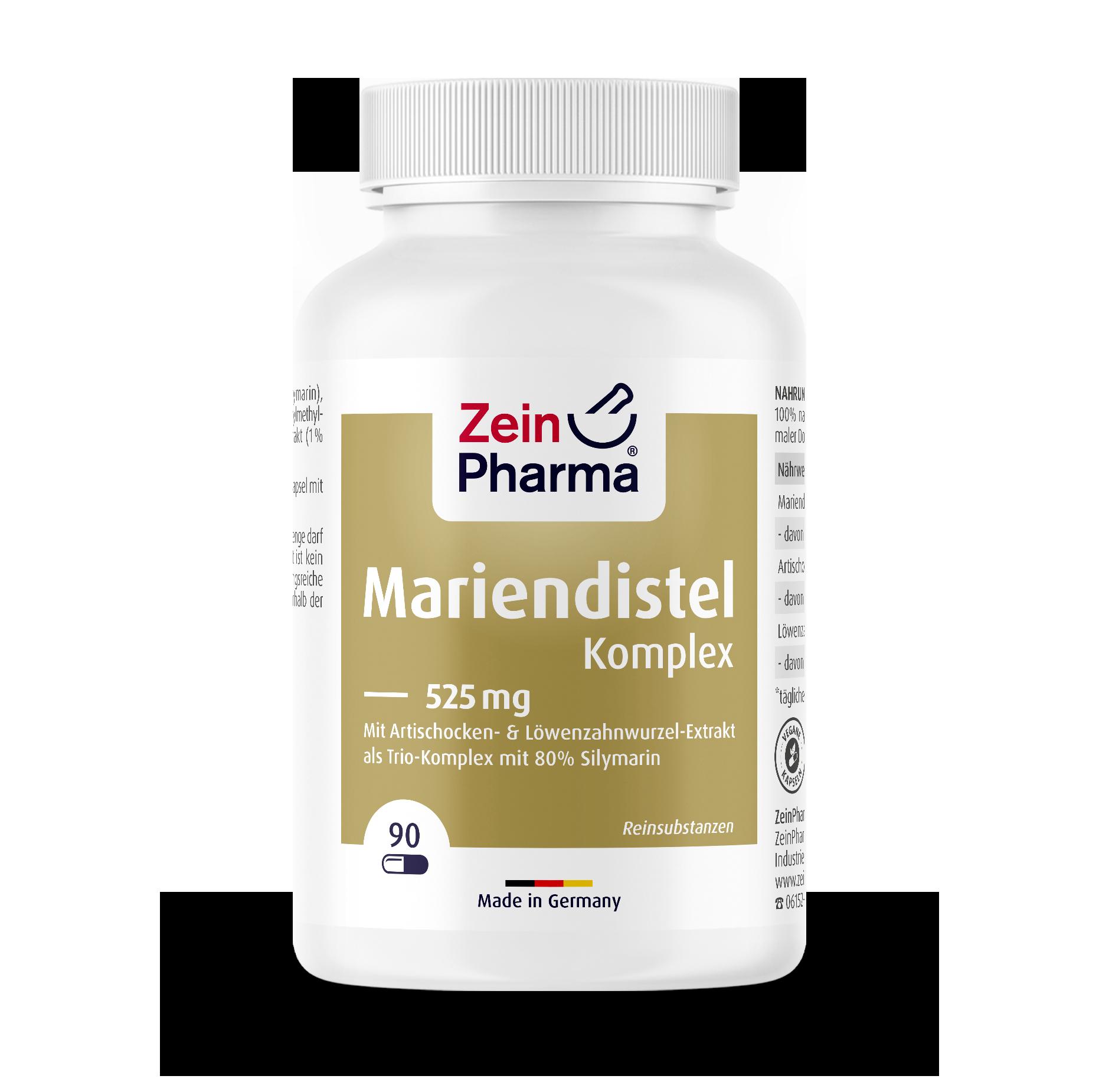 Milk Thistle Complex 525 mg Capsules