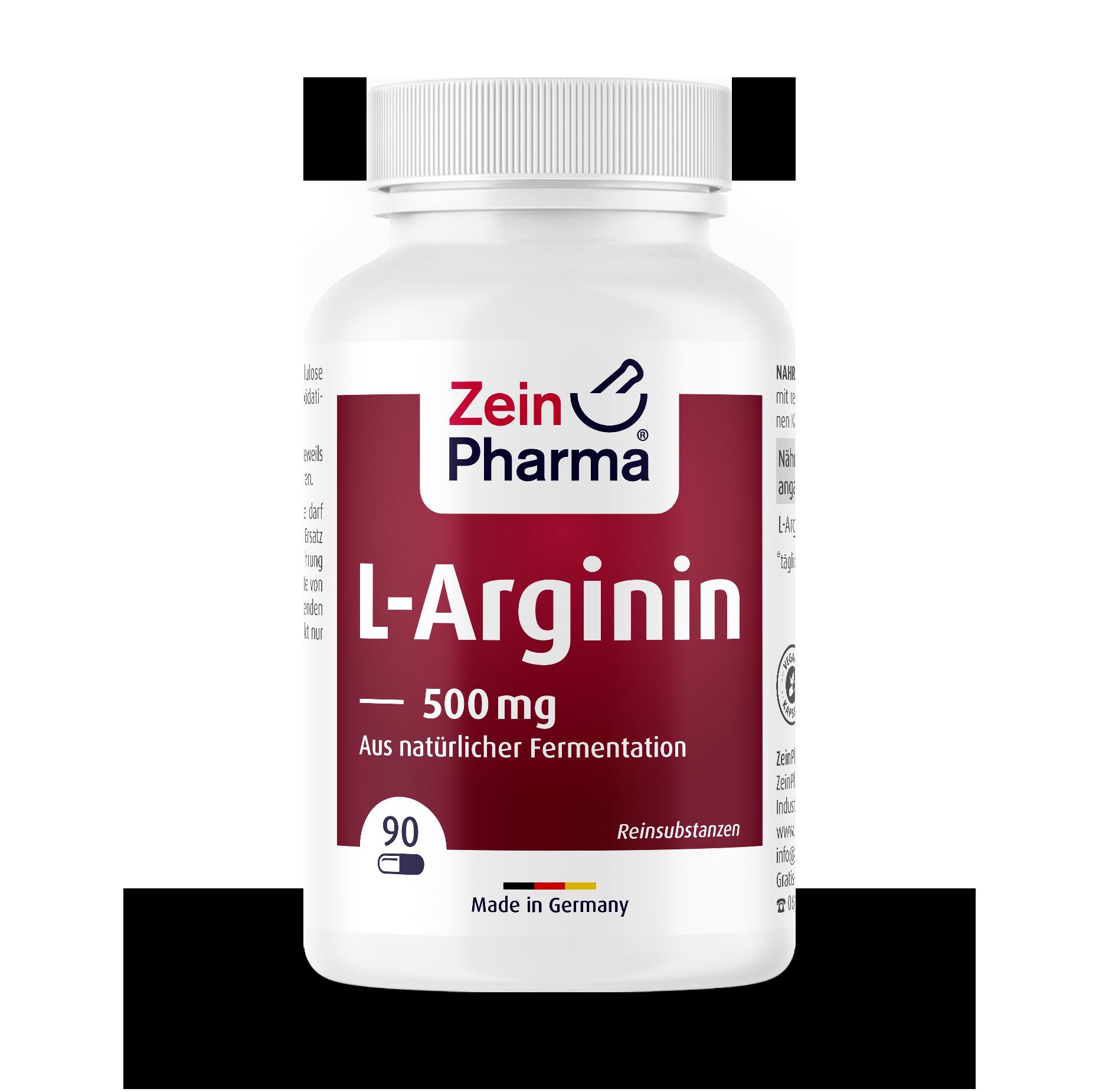 L-Arginine Capsules 500 mg