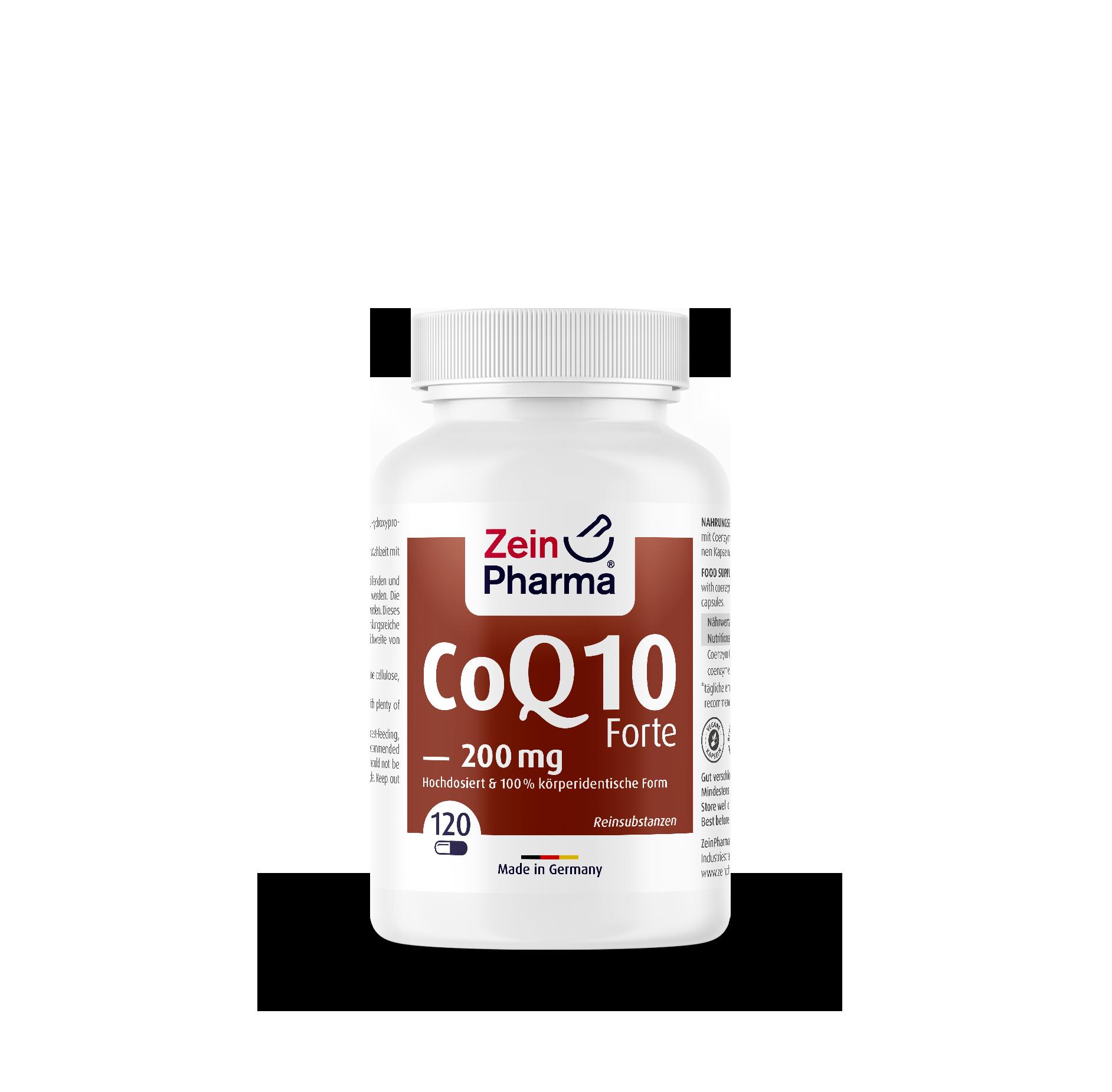Coenzyme Q10 Forte Capsules 200 mg