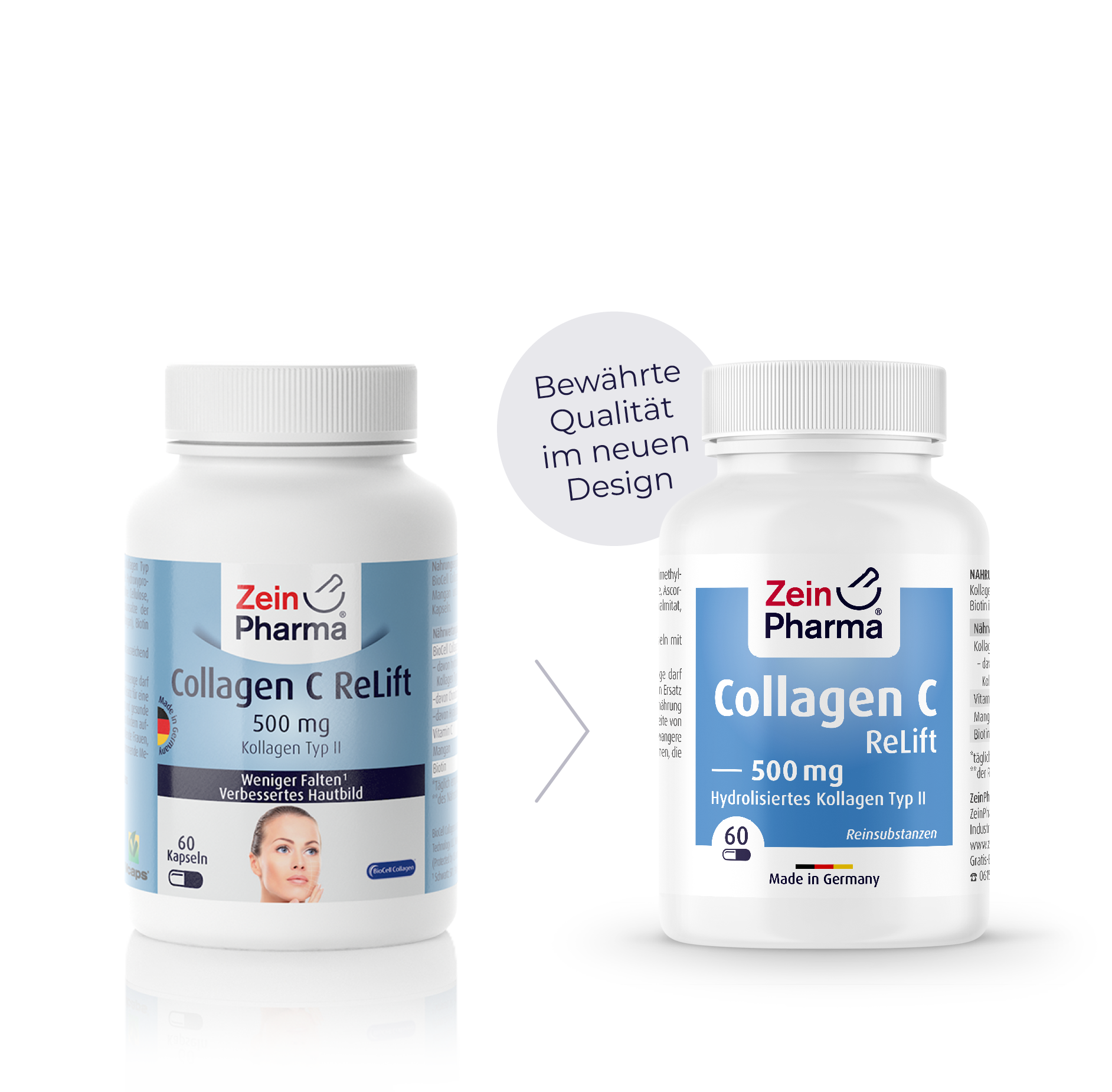 Collagen C ReLift Capsules 500 mg
