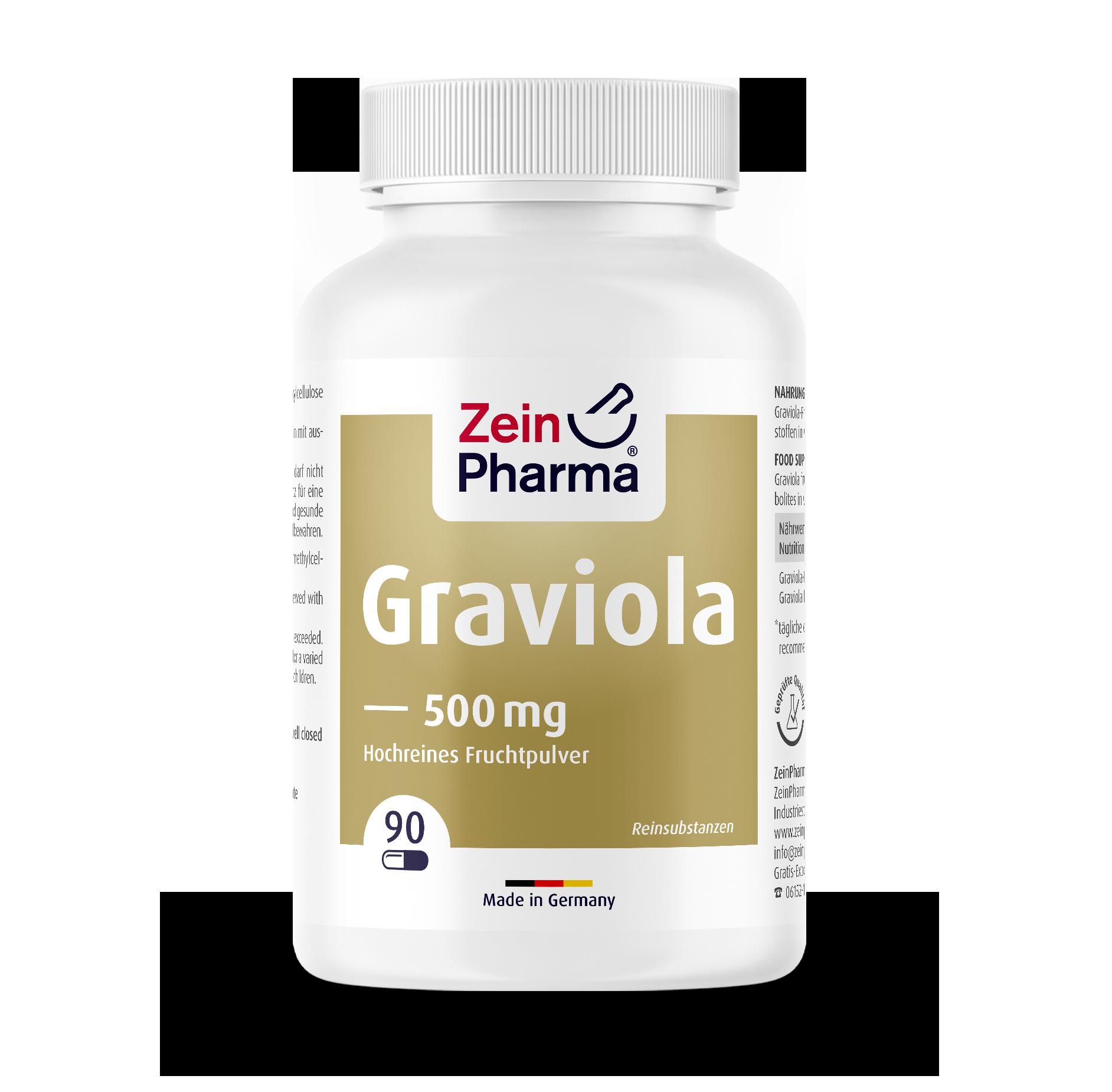 Graviola Capsules 500 mg
