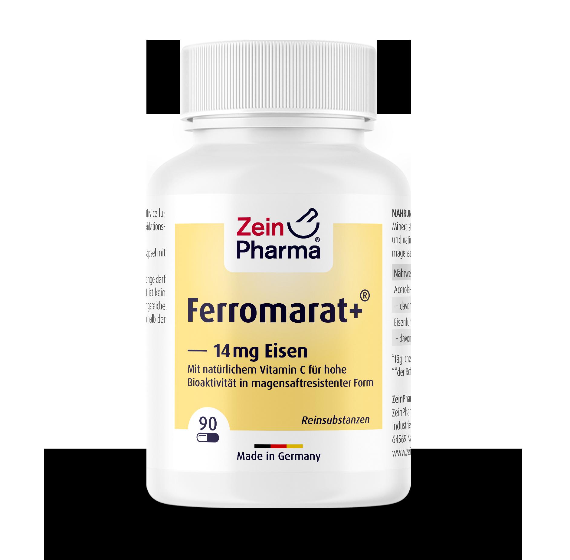 Ferromarat+® Iron Capsules 14 mg