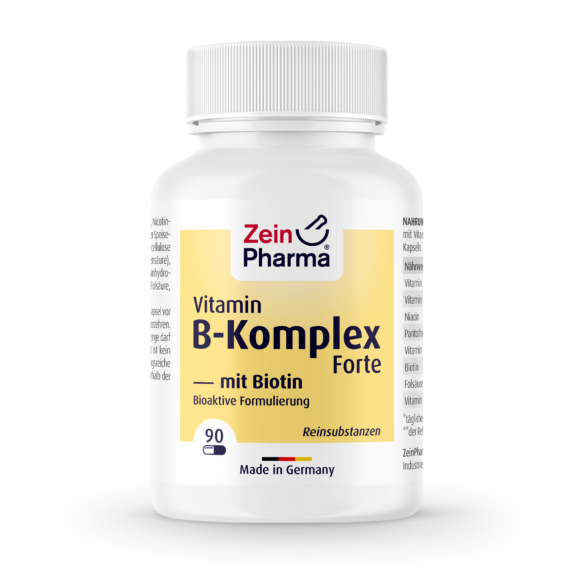 Vitamin B Complex Forte + Biotin Capsules
