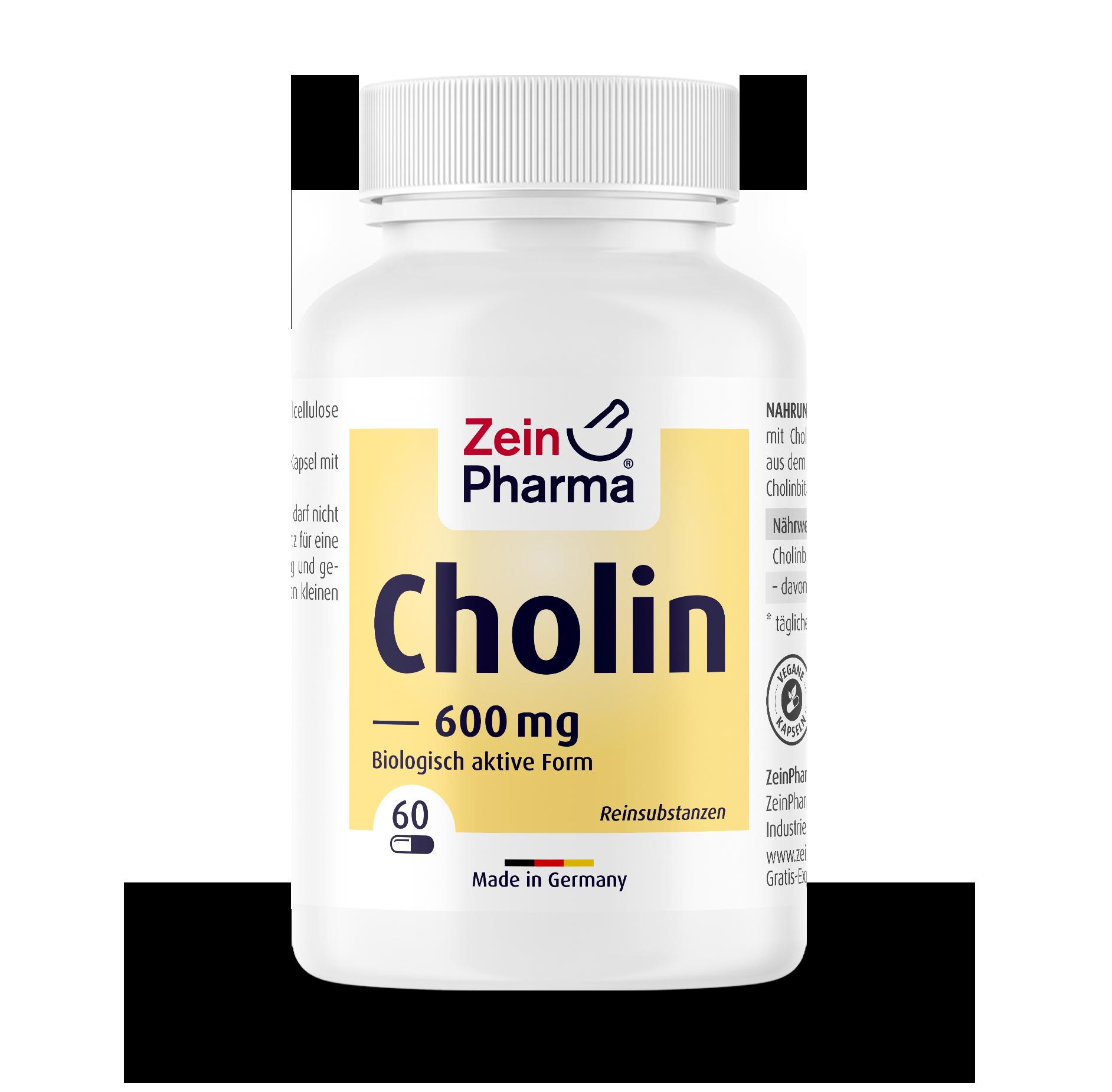 Choline 600 mg Capsules