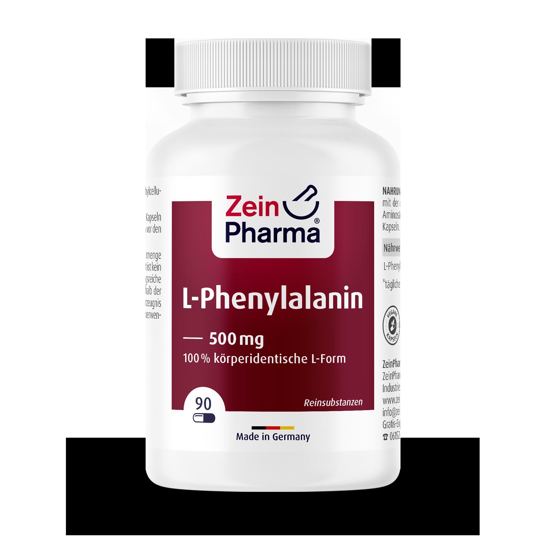 L-Phenylalanine Capsules 500 mg