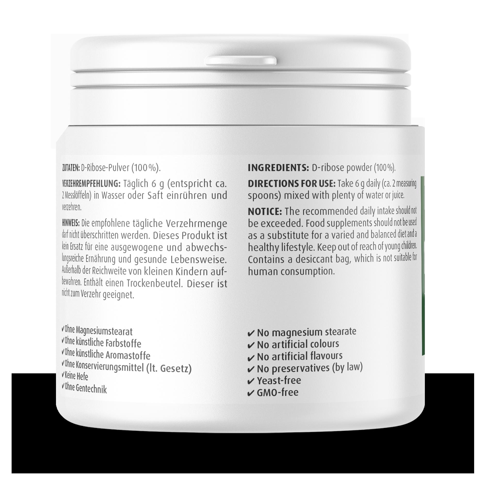 D-Ribose Powder 200 g