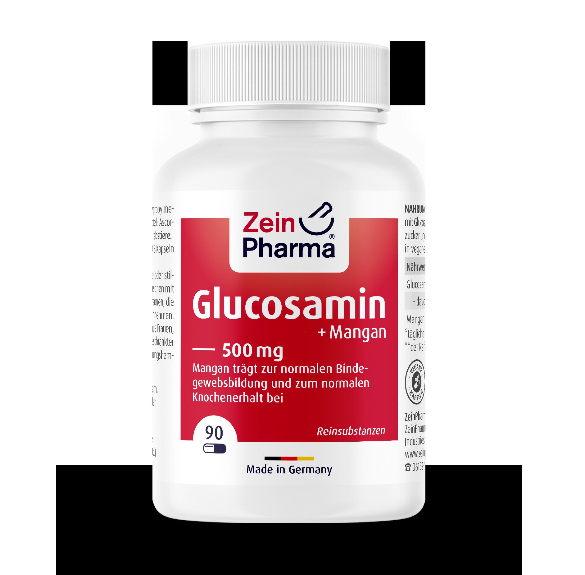Glucosamine Capsules 500 mg