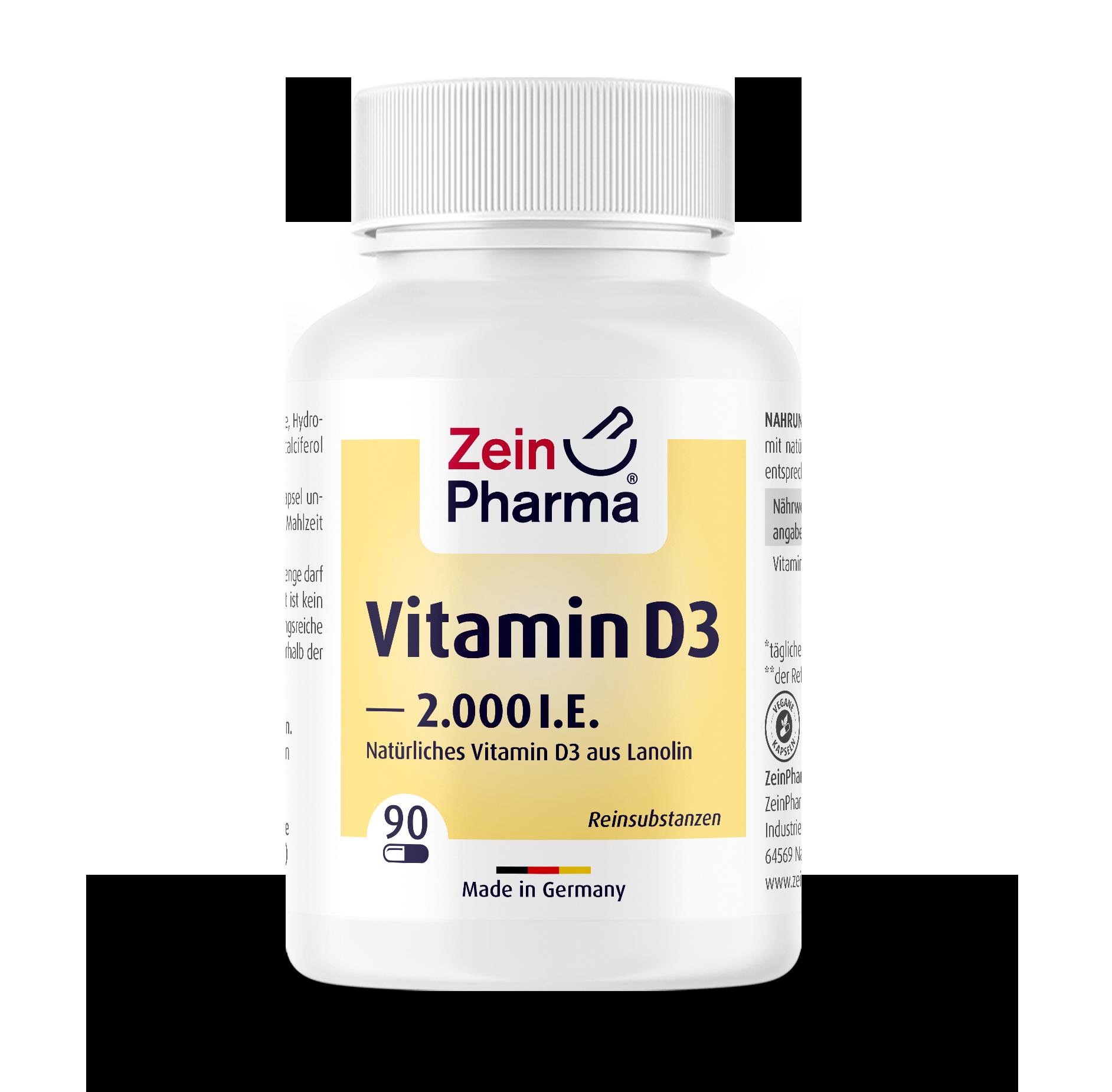Vitamin D3 2000 I.U. Capsules