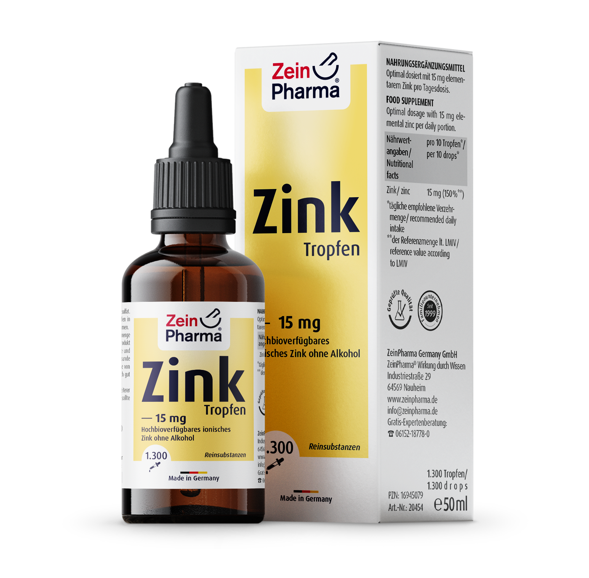 Zinc 15 mg Drops