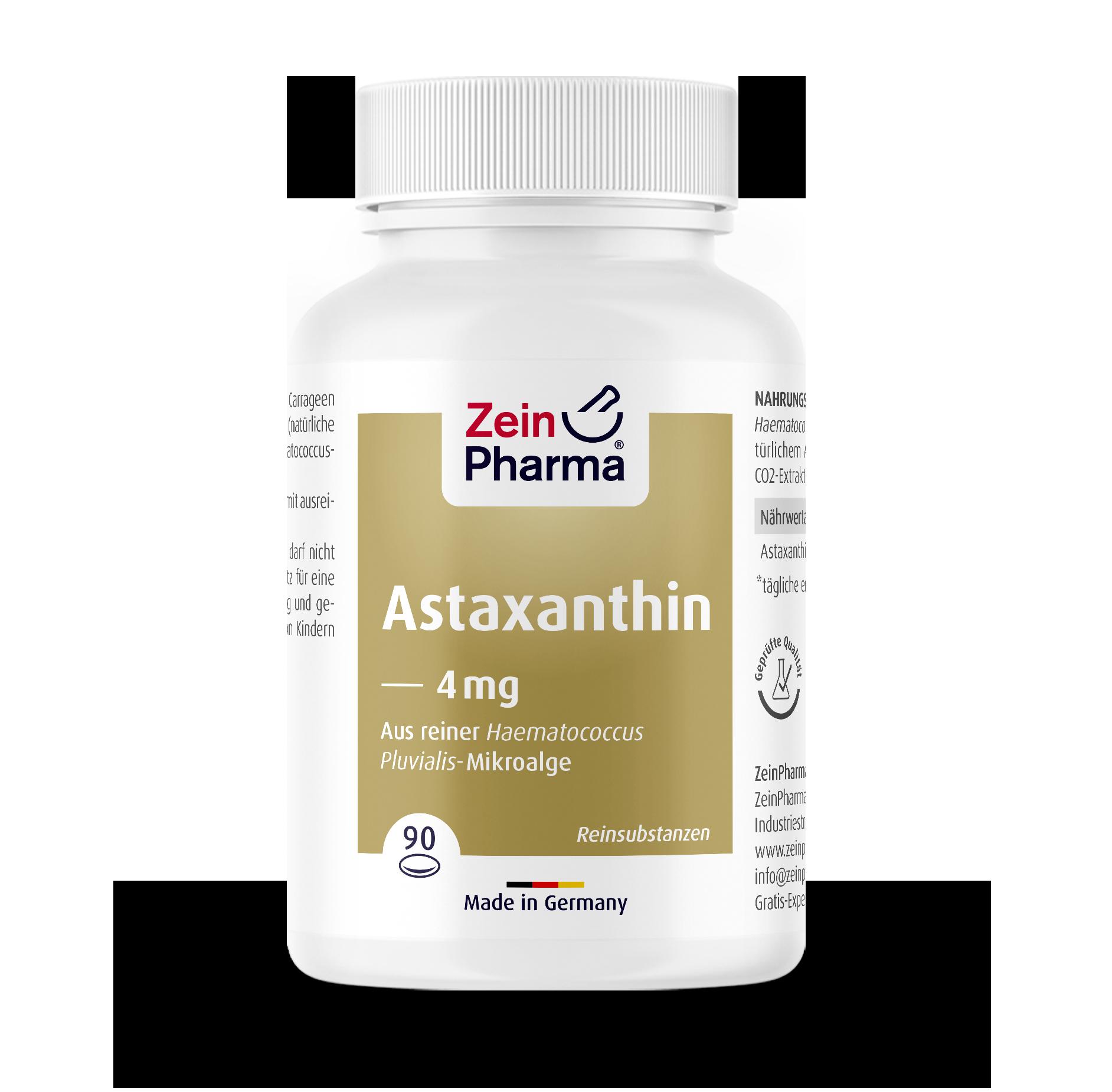 Astaxanthin 4 mg Softgel Capsules