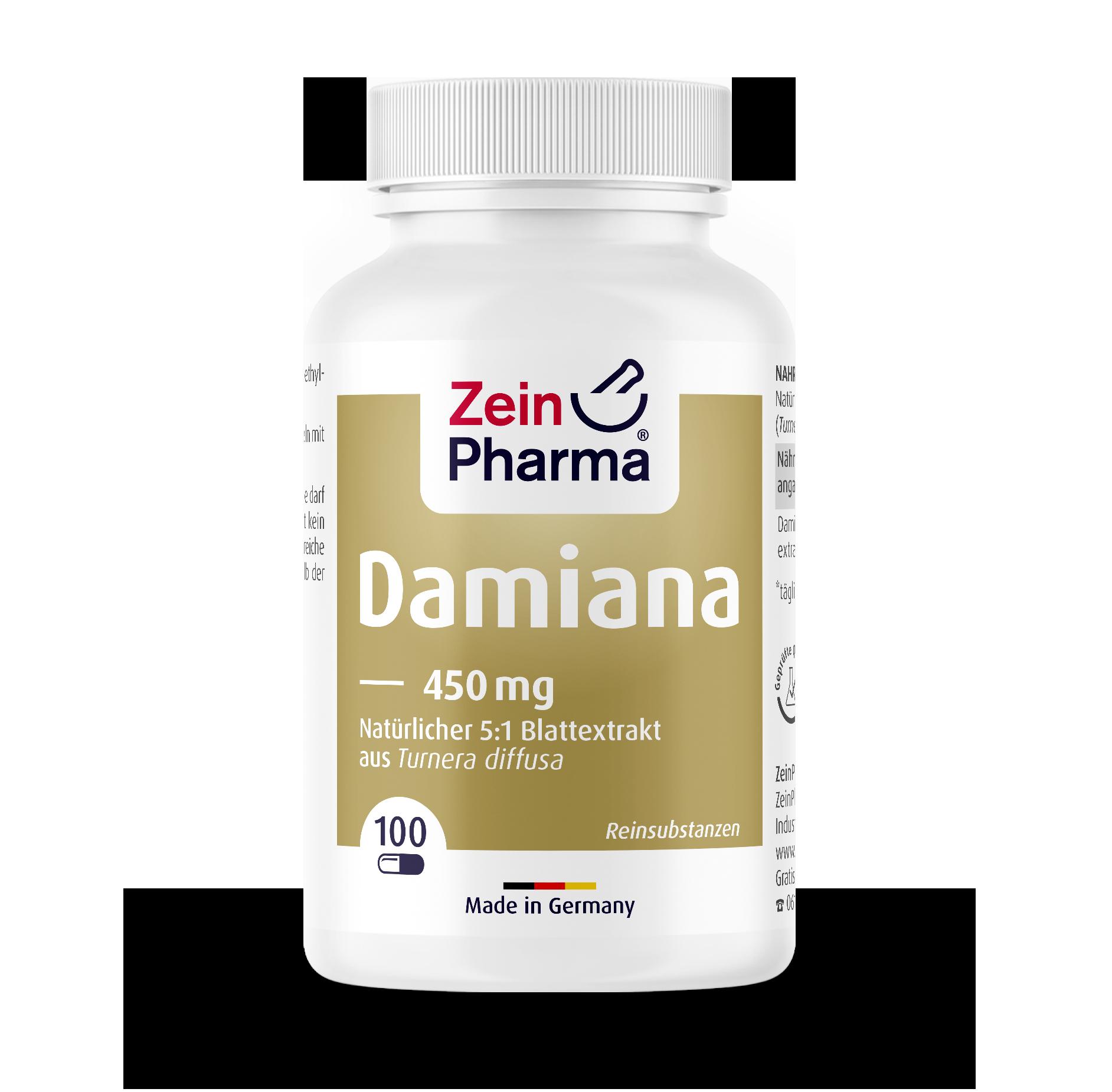 Damiana Capsules 450 mg
