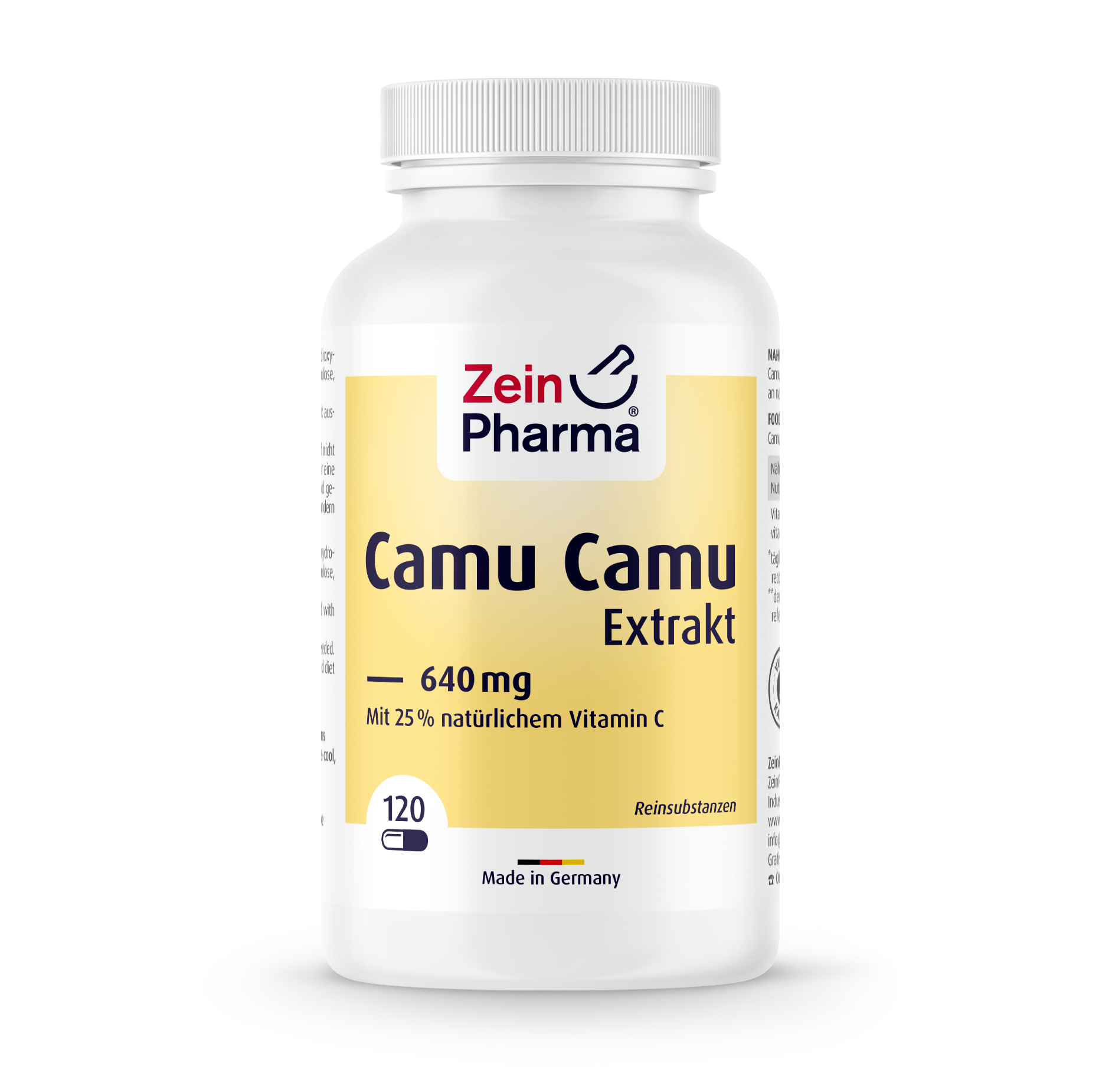 Camu Camu Extract 640 mg Capsules