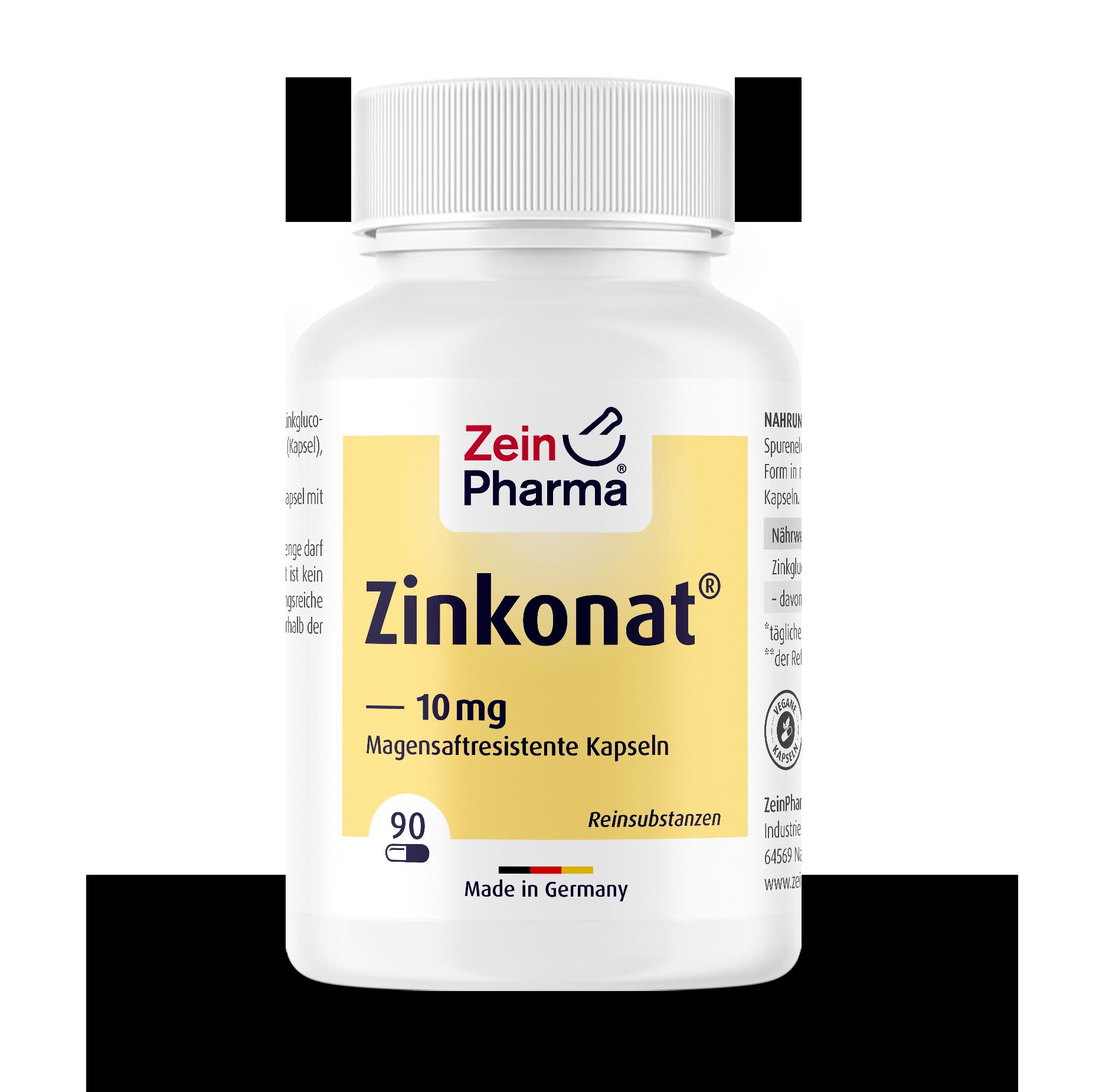 Zinconate Capsules 10 mg