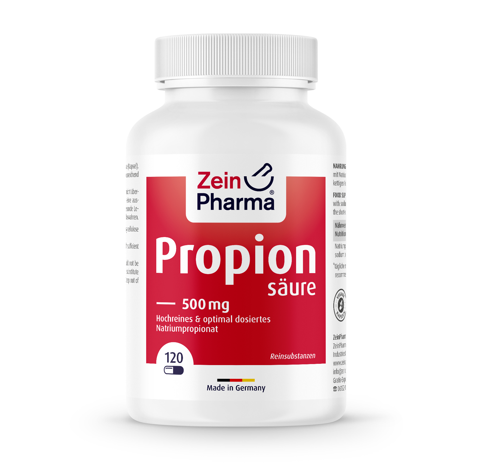 Propionic Acid 500 mg Capsules