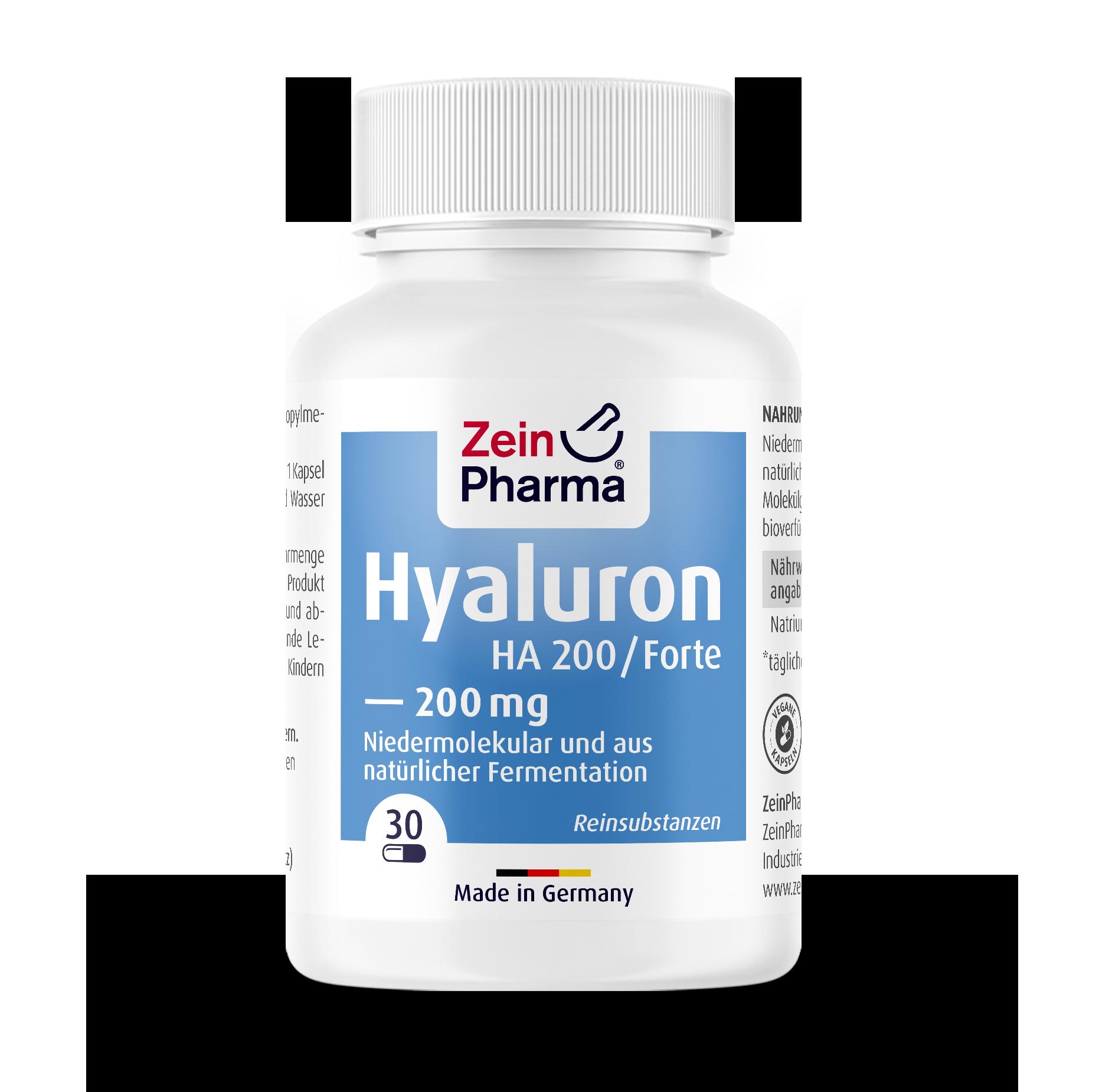 Hyaluron Forte HA Capsules 200 mg