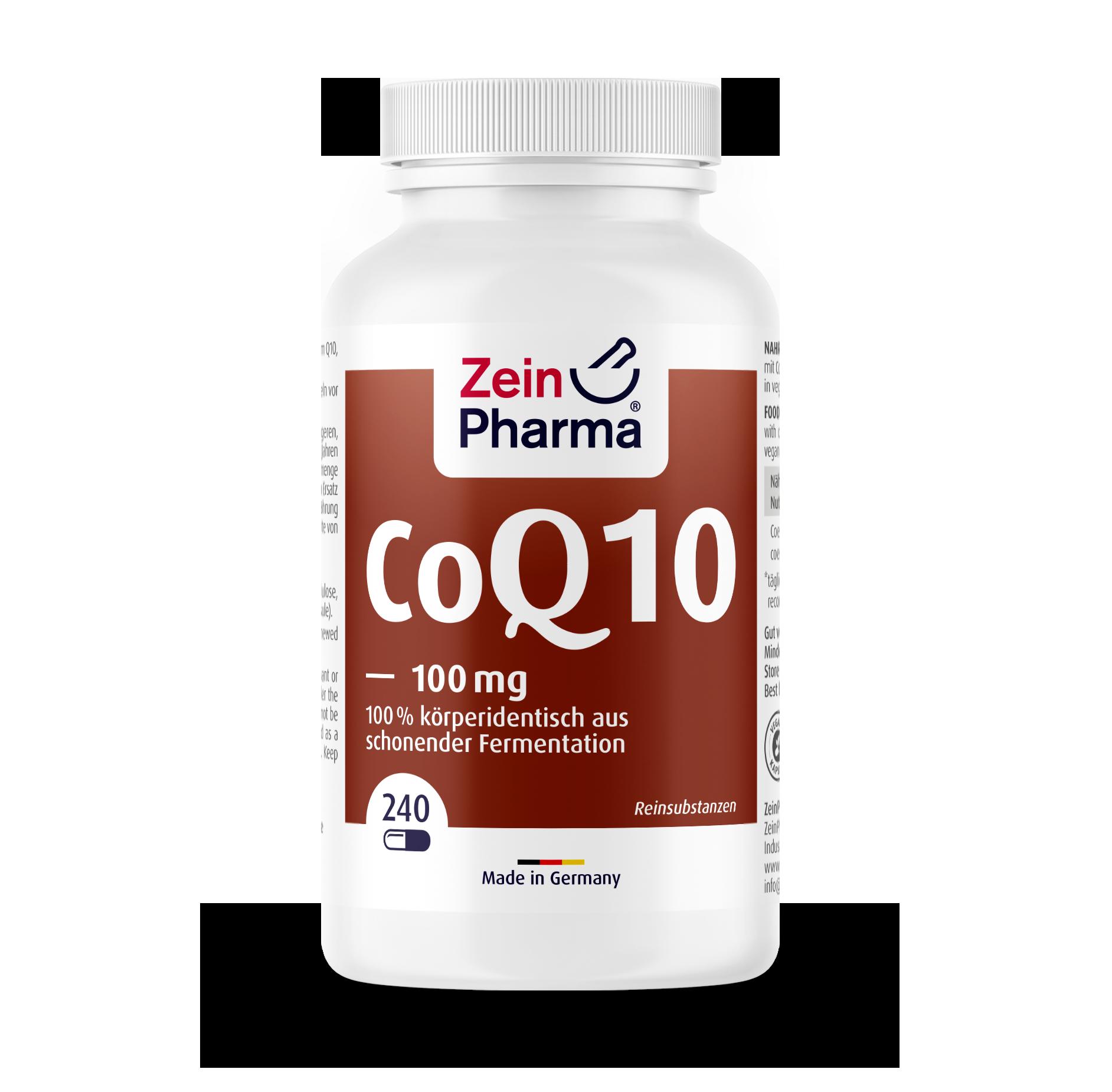 Coenzyme Q10 Capsules 100 mg