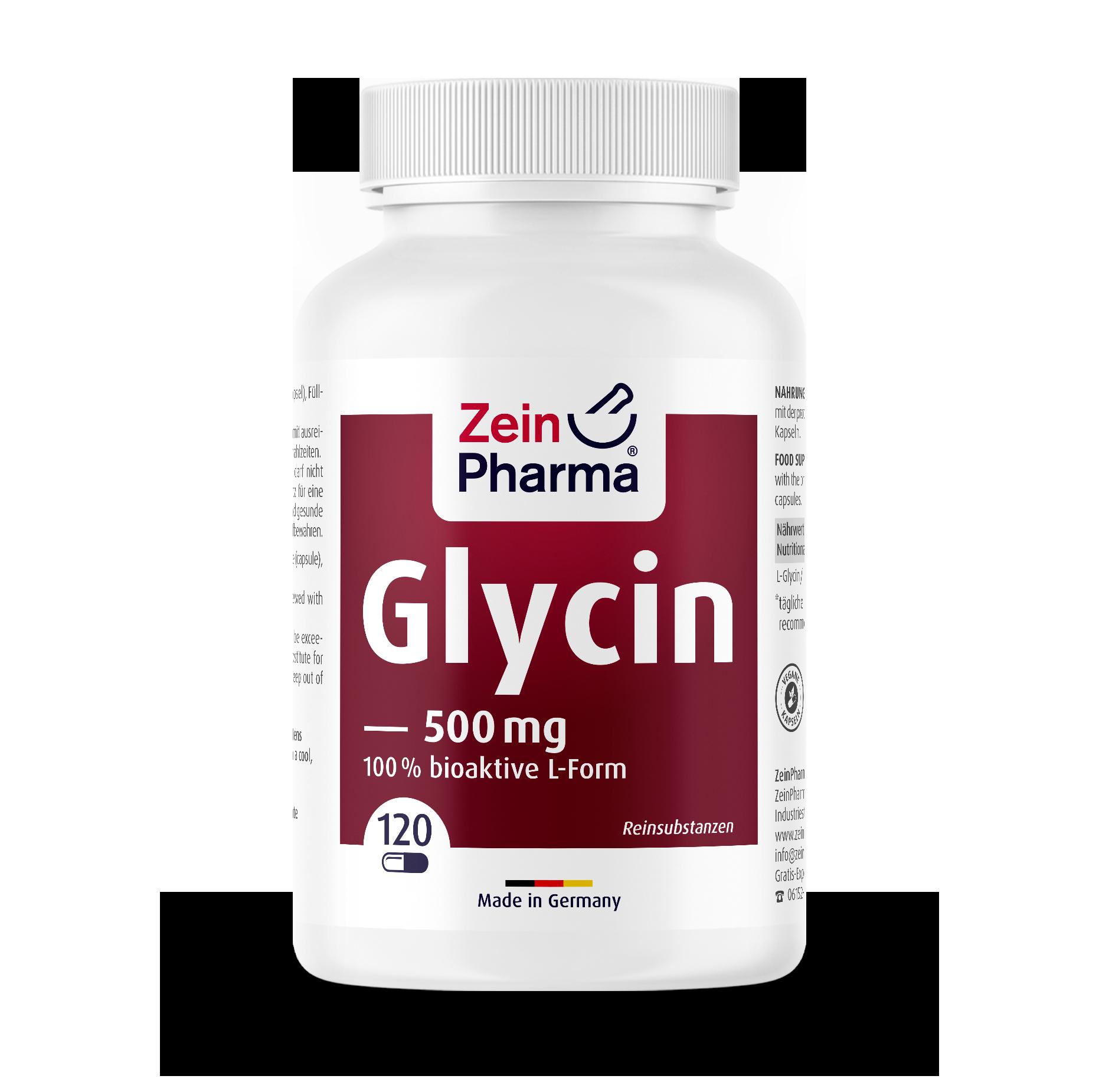 Glycine Capsules 500 mg