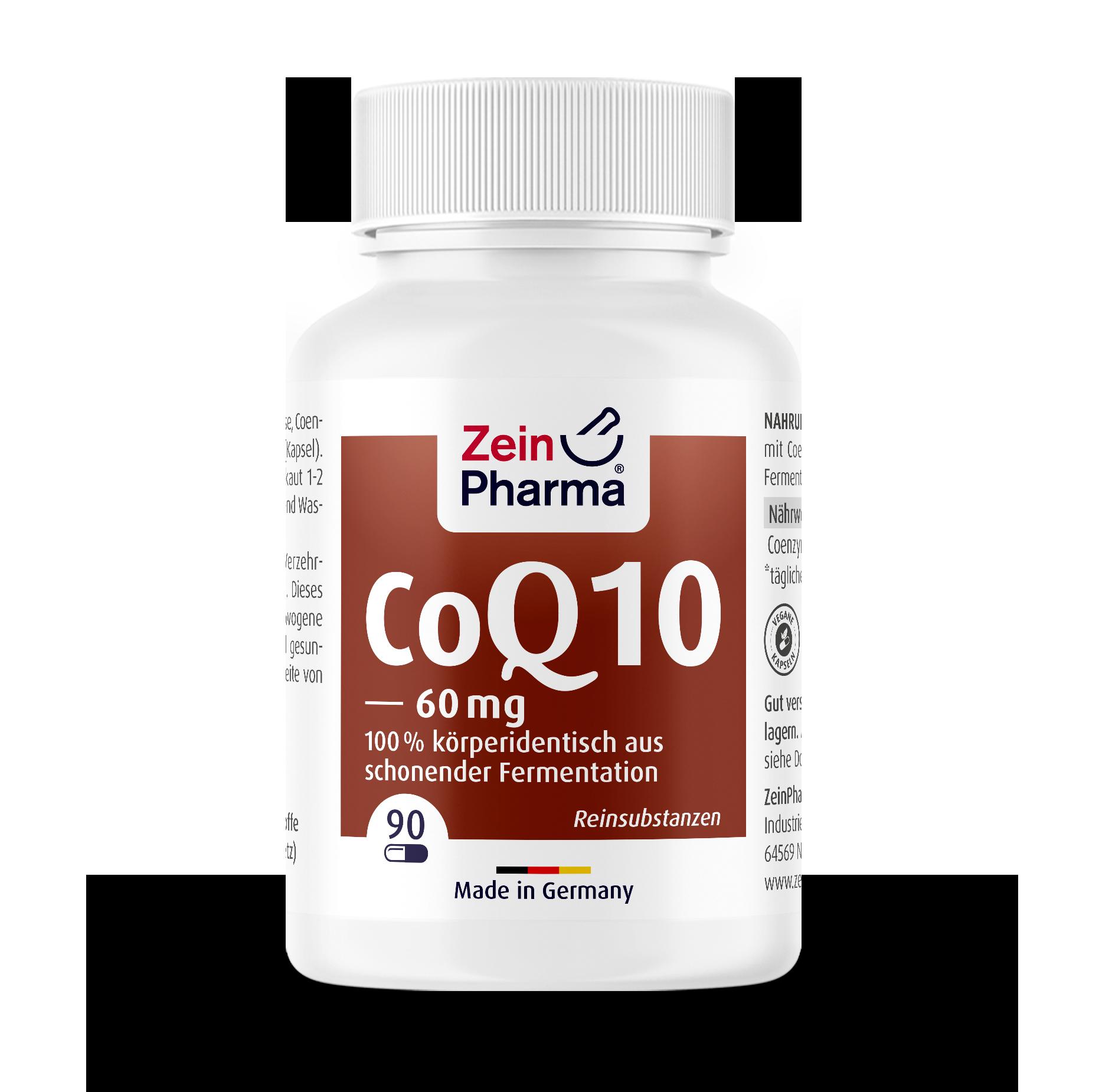 Coenzyme Q10 Capsules 60 mg