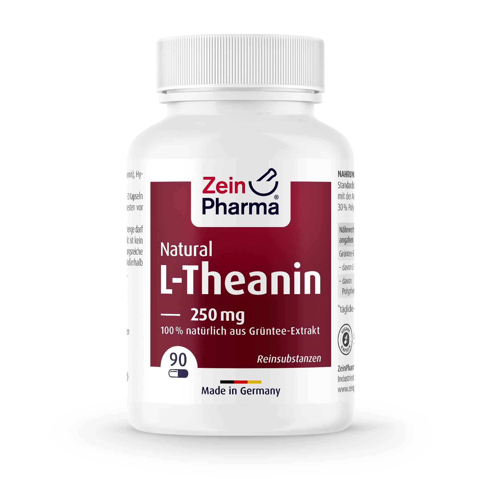 L-Theanin Natural Capsules 250 mg