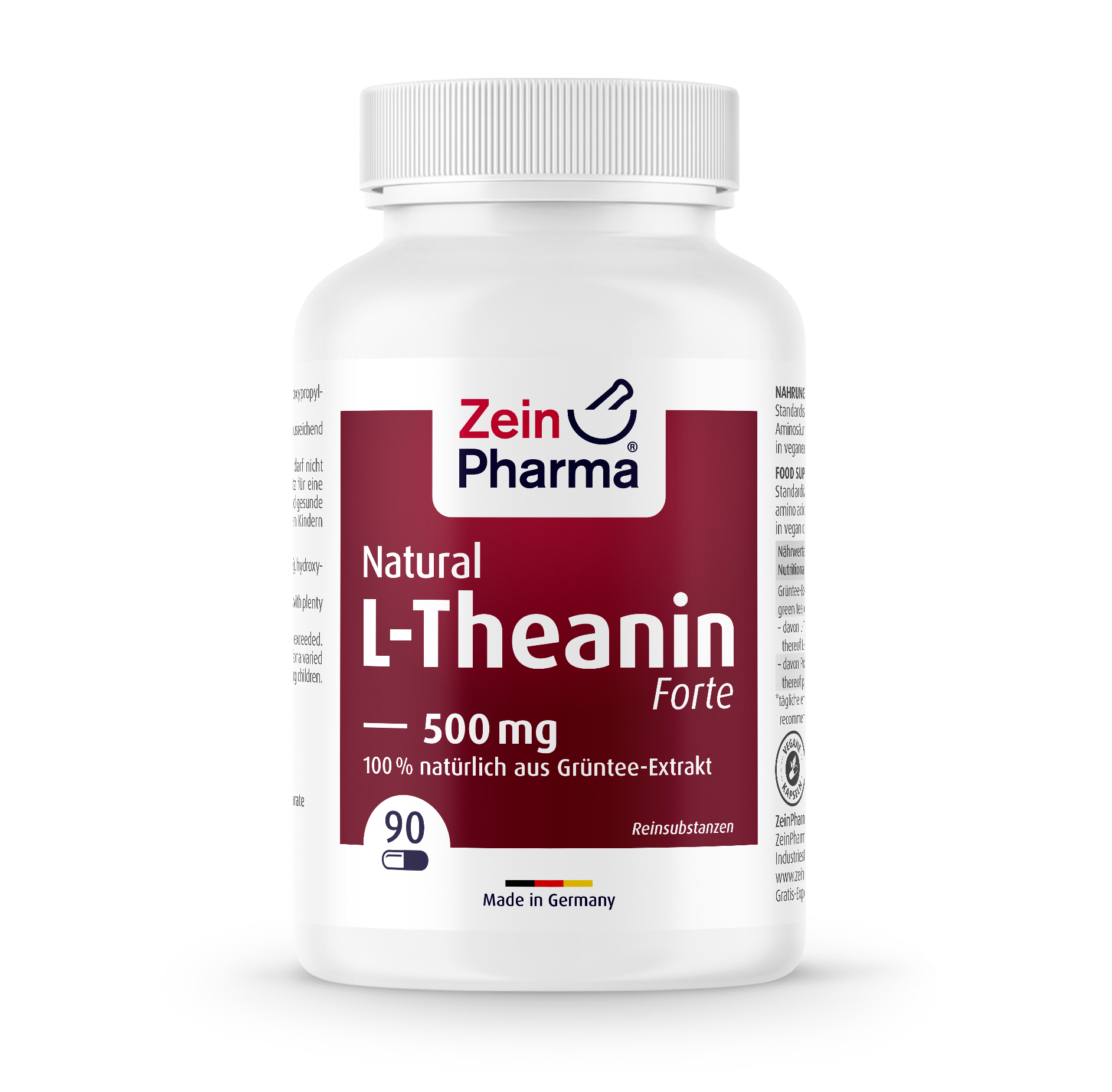 L-Theanin Natural Forte Capsules 500 mg