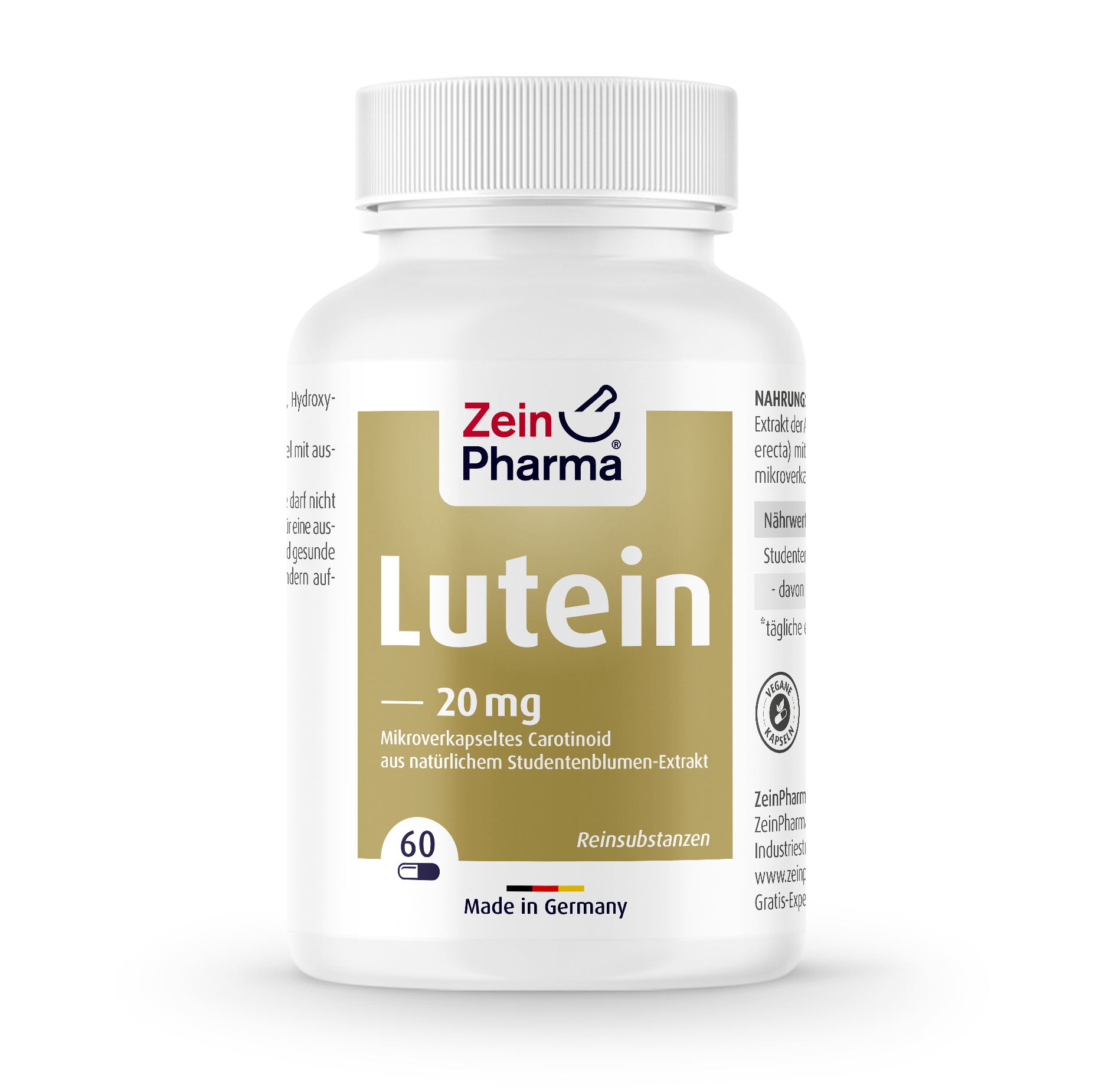 Lutein 20 mg Capsules
