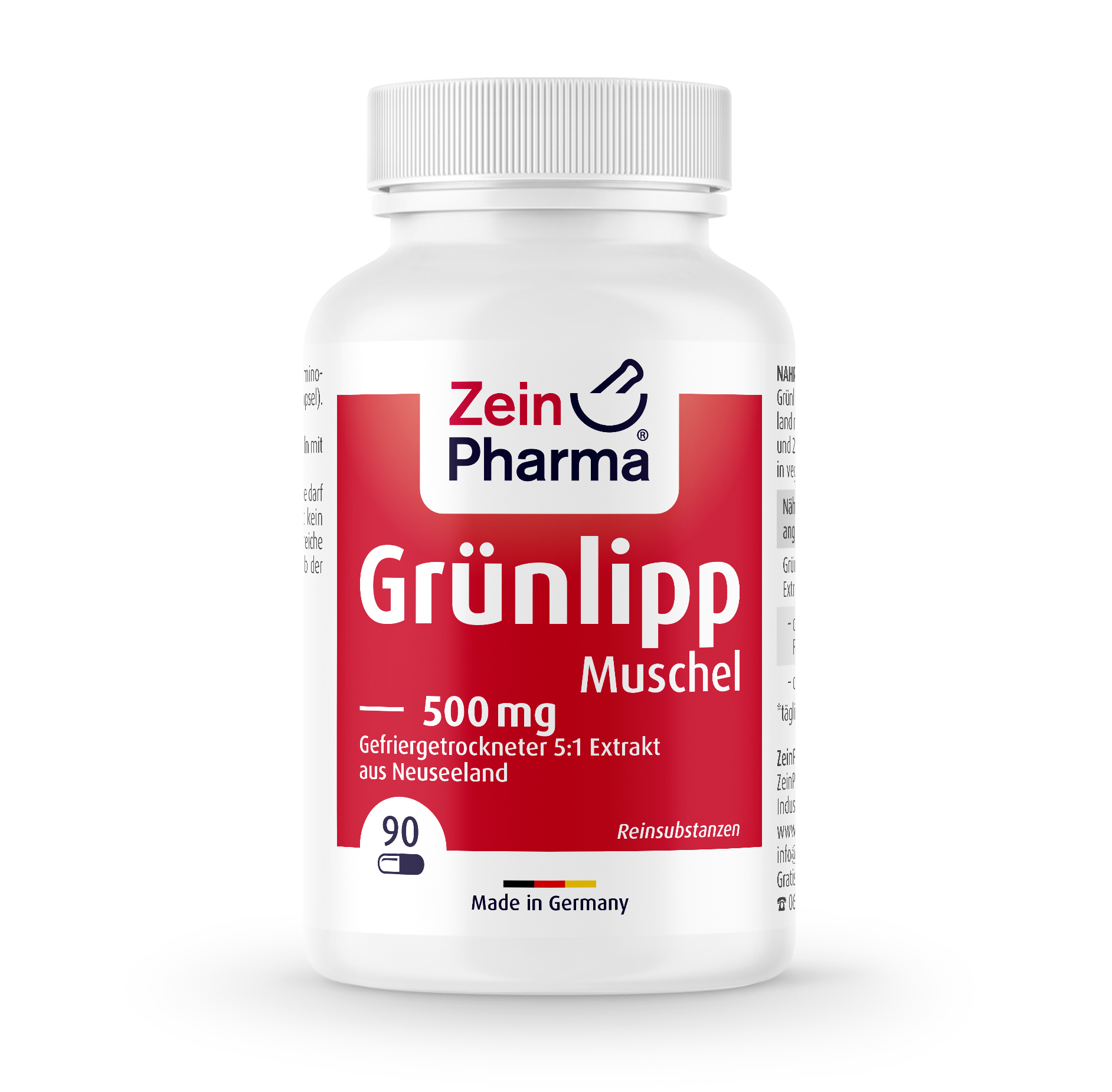 Green-Lipped Mussel Capsules 500 mg