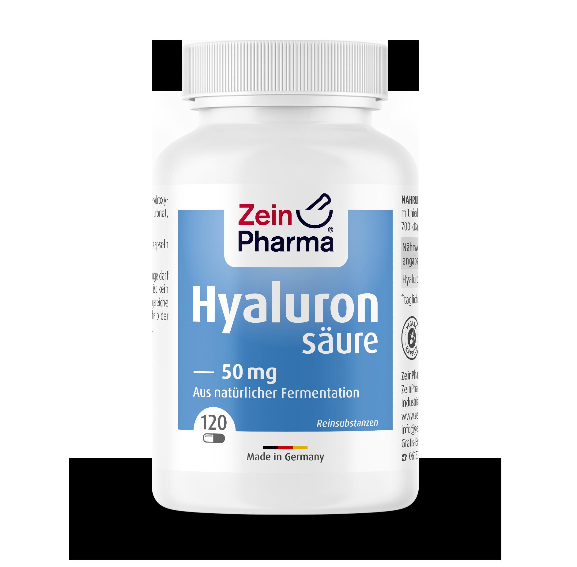Hyaluronic Acid 50 mg Capsules