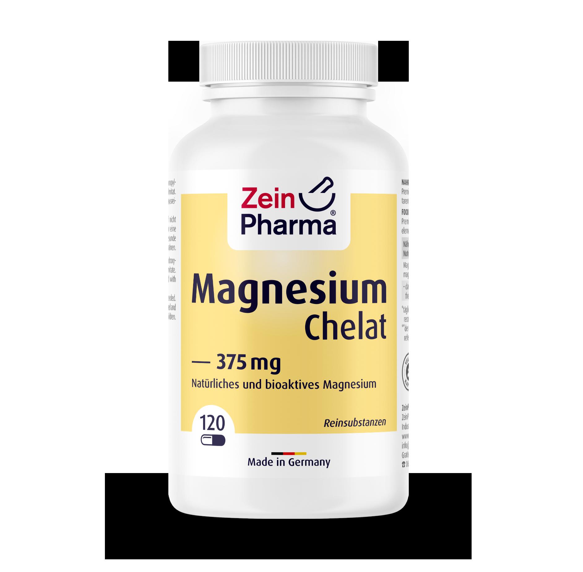 Magnesium Chelate Capsules 375 mg