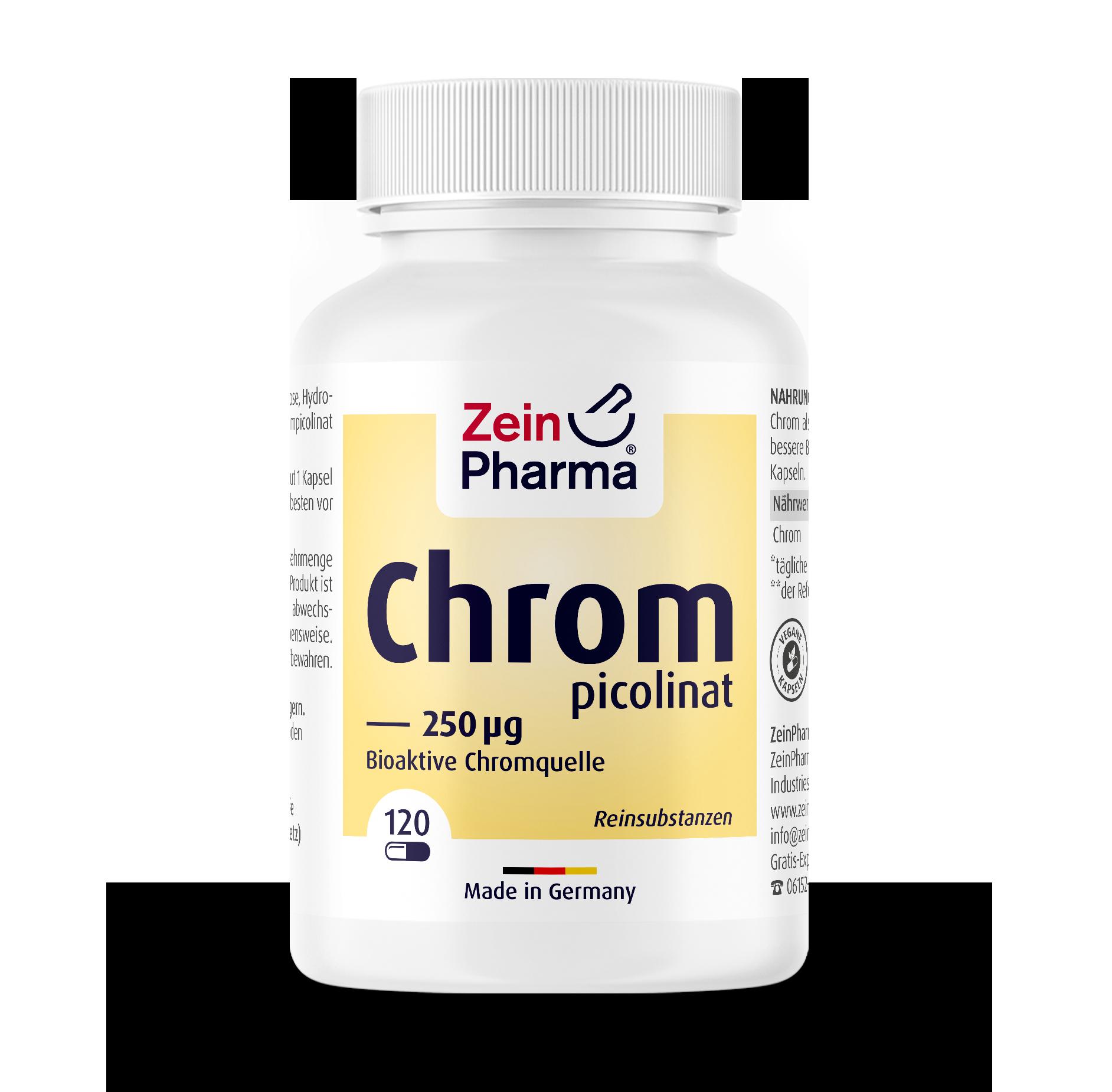 Chromium Picolinate 250 µg Capsules